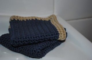 100% Organic Cotton Washcloth